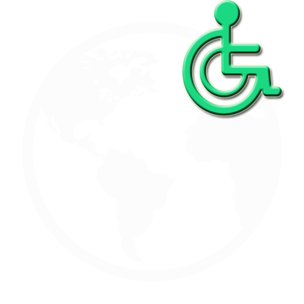The Accessible World Conference Logo